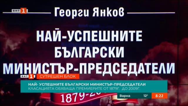 Класация на най-успешните български министър-председатели от 1879 до 2009 г.