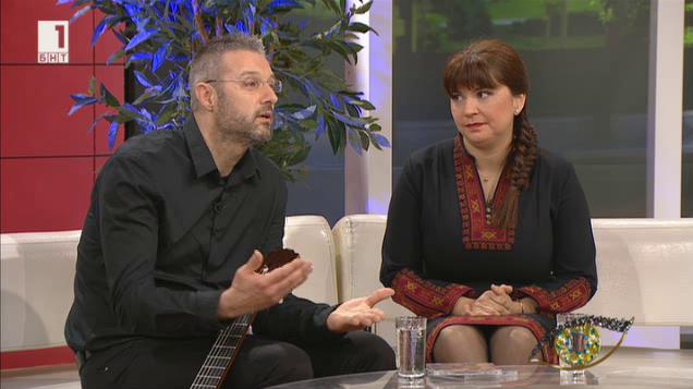 Отблизо Нели Андреева и Николай Пеев