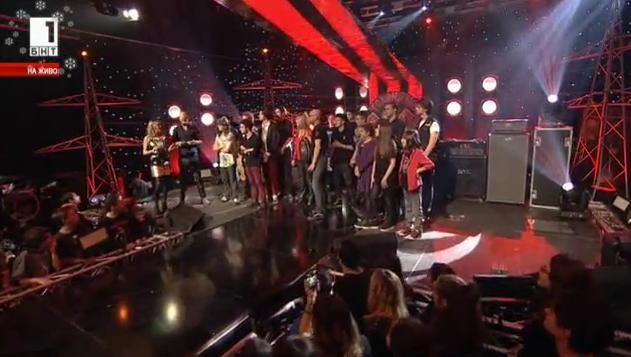 Група Блъдръш - победителите в Голямото рок междучасие