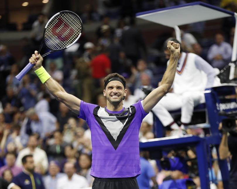 Историческа победа на Григор Димитров над Роджър Федерер