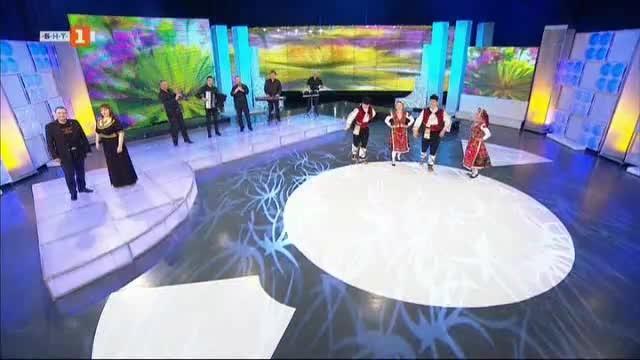 Дуетът Васил Вълканов - Ива Гидикова и Полина Порумова