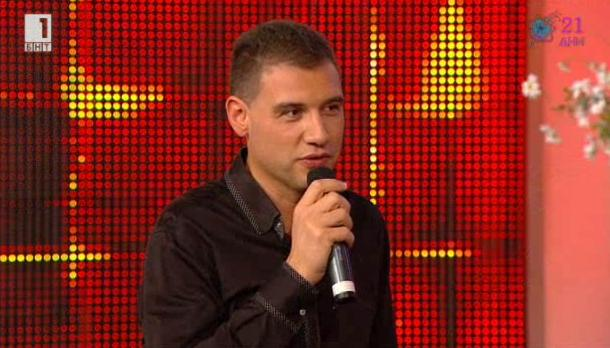 Младият тракийски певец Веско Василев