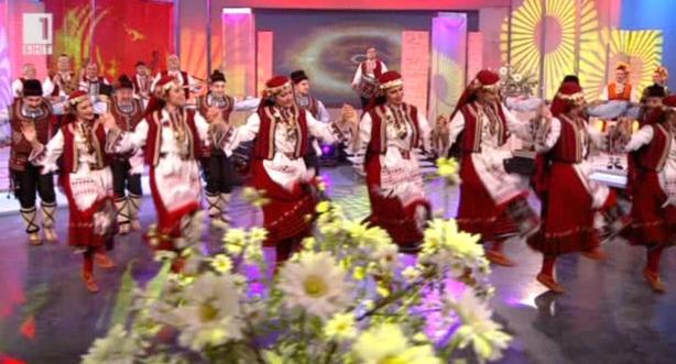 """Професионален фолклорен ансамбъл """"Мизия"""" в Иде нашенската музика - 7.03.2015"""