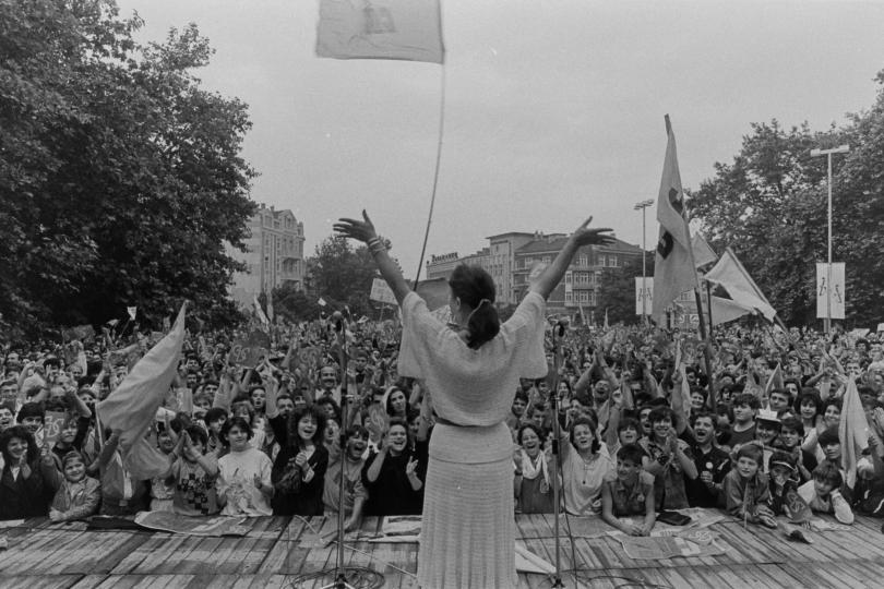 """Специална изложба """"Варна – градът на промяната"""", посветена на 10 ноември 1989 г."""