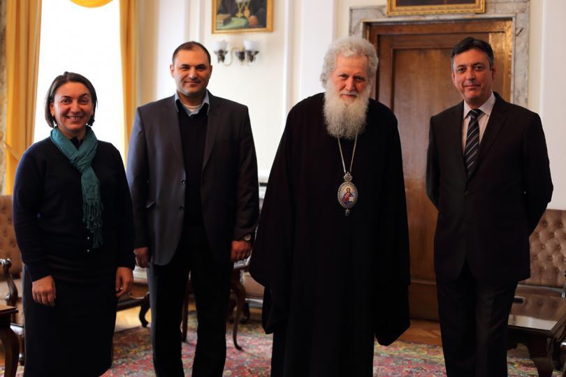 снимка 1 Вяра и общество с Горан Благоев