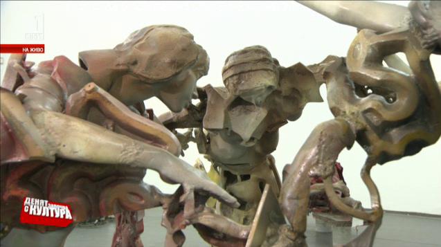 За скулптурата и сатирата - юбилейна изложба на Крум Дамянов