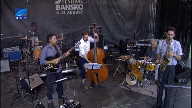 Джаз фестивал Банско 2014: Концерт на Нигун /Унгария/ - 06.07.2016
