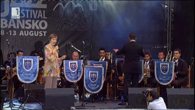 Джаз фестивал Банско 2016: Йълдъз Ибрахимова и Биг бенд Орлите/Турция/ - 07.04.2016