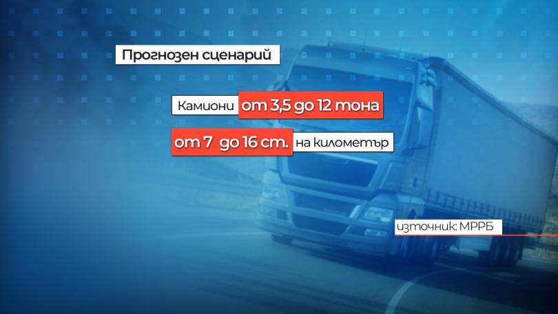 Новите пътни такси за камионите може да доведат до допълнителни разходи