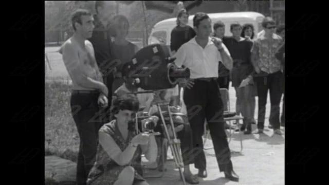 "Снимачна площадка на ""Рицар без броня"", 1965 година"