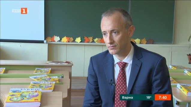 Министър Вълчев: Първокласниците да заобичат образованието