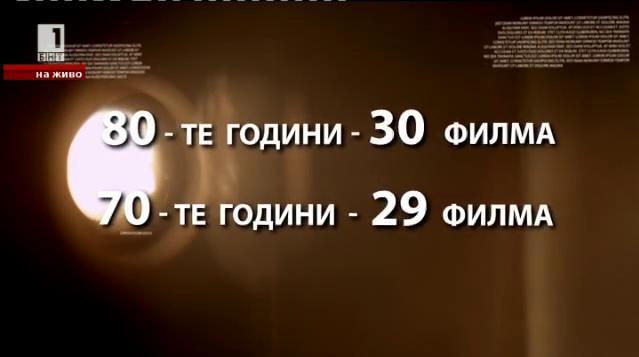 Рубрика Любопитна статистика за българското кино