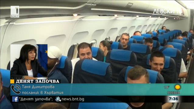 Сблъсъци между фенове на Левски и Хайдук в Хърватия