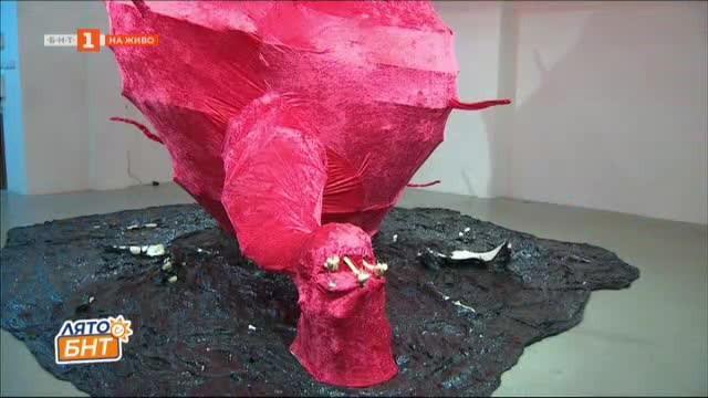 Изложбата Тук се случи на Мартин Пенев