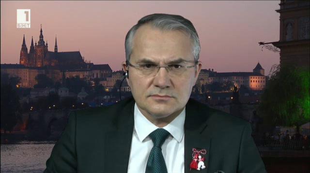 В. Вачков, Лидове новини: В Чехия темата е преди всичко икономическа