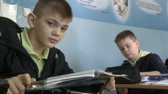 12-годишният Любчо сбъдна мечтата си – да учи със своите приятели