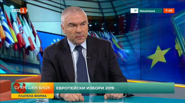 Евроизбори 2019: Веселин Марешки, водач на листата на Воля – Български родолюбци
