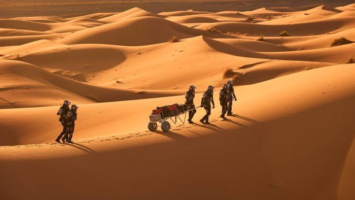 Зад кулисите на Марс