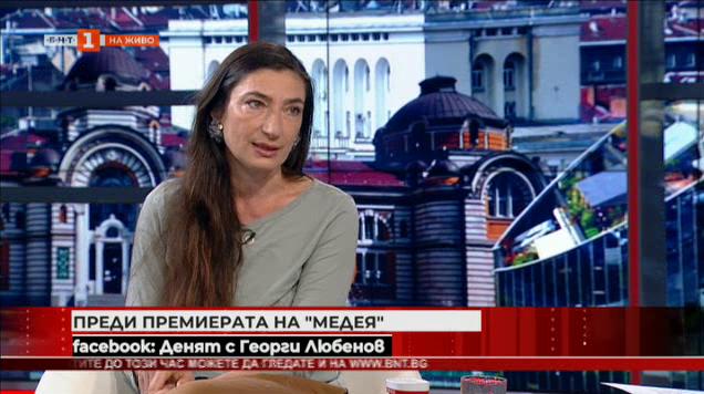 """Снежина Петрова в трескава подготовка за """"Медея"""""""