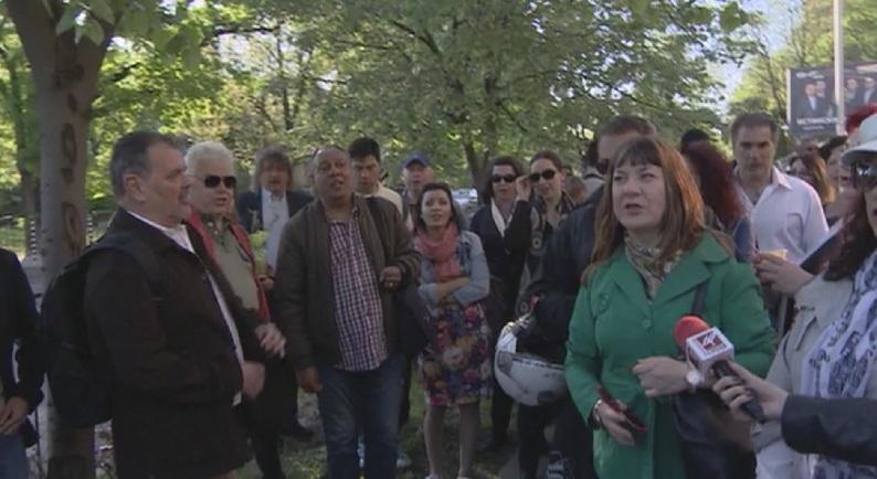 Музикантите в БНР протестират с искания за по-високи заплати