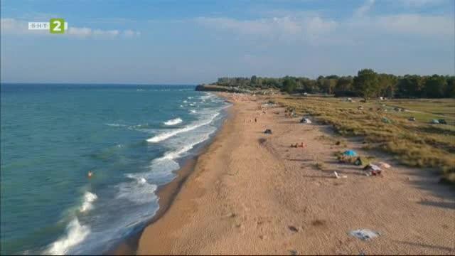 №1 Туризмът: На къмпинг край морето