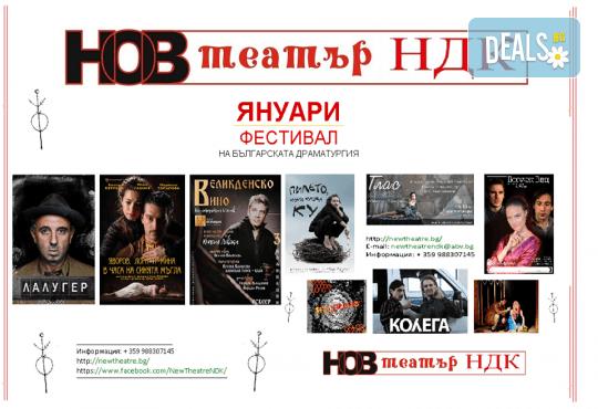 Януари - фестивал на българската драматургия