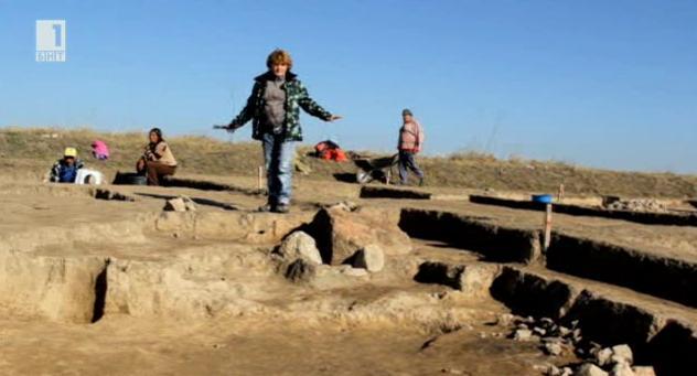 Археологически разкопки край Макак и Септември - на Пистирус и Кози грамади