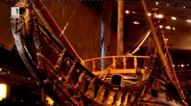 Реконструкция на оръдия, намерени на шведски кораб