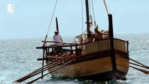 Реконструкция на тракийски кораб