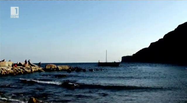 Как Орфей е стигнал до Йолкос, за да тръгне с Язон и кораба Арго
