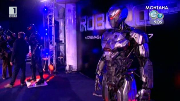 Премиера на филма Робокоп в Лондон