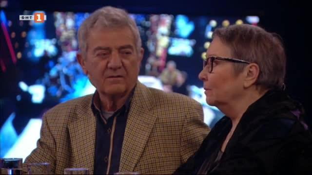 Доротея Тончева и Стефан Цанев - гости в Нощни птици