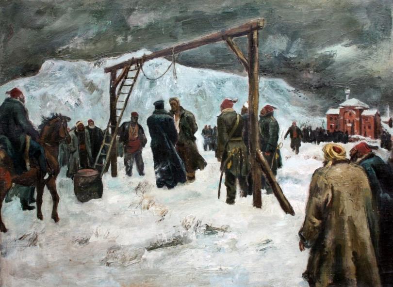 """""""Обесването  на Васил Левски"""""""