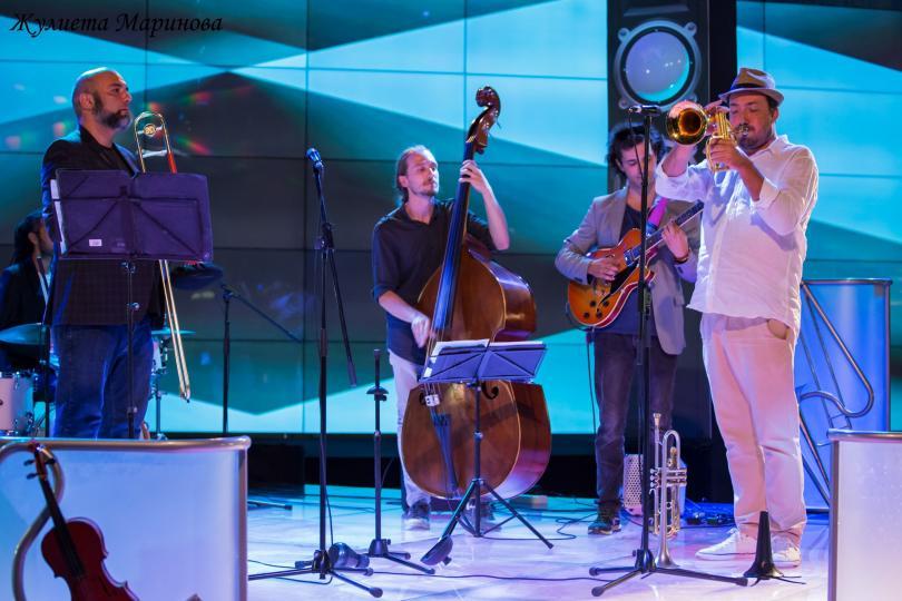снимка 2 4 Magic, Мария Илиева, квартет Стрингс, Оld school trombone