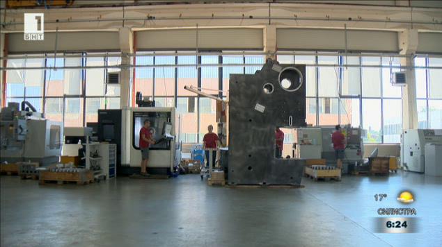 Българска машиностроителна фирма е лидер на германския пазар