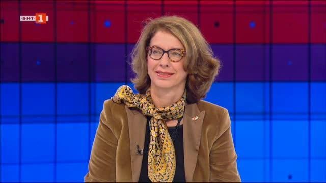 Първо телевизионно интервю с Н.Пр. Мюриел Коен, посланик на Швейцария у нас