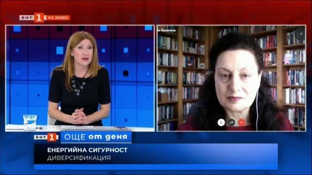 Енергийна сигурност и стратегически партньорства - експертът Маргарита Асенова