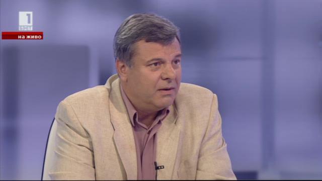 Евгений Бакърджиев за Южен поток и политическата криза у нас