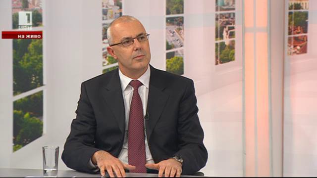 Разговор с вътрешния министър Веселин Вучков