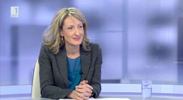 Министър Златанова с коментар за новия Наказателен кодекс