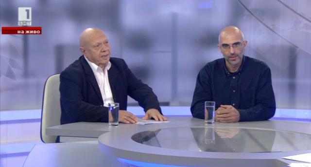 Предизборен дебат между Христо Дунчев и Павел Иванов