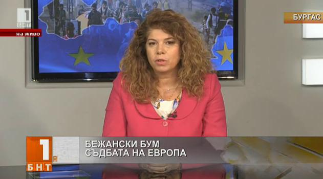 Илияна Йотова за бежанската криза