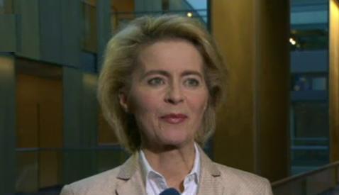 Майка на седем деца - военен министър в Германия