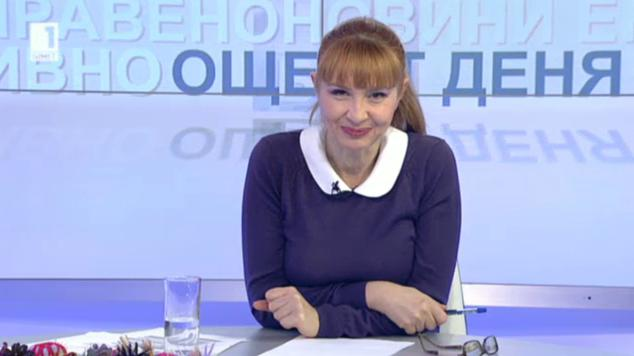 Още от деня с Милена Цветанска - 17 декември 2013