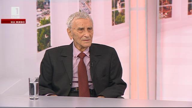 Петко Бочаров на 96 години