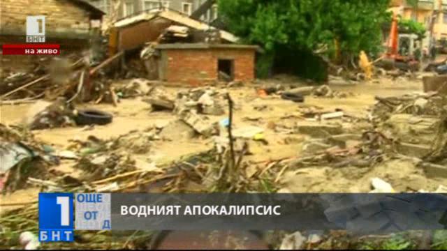 Варна - екипи работят по разчистване на последствията