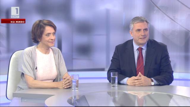 Дебат между Ивайло Калфин и Надежда Нейнски