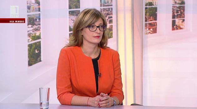 Екатерина Захариева: Има техническа възможност за електронно гласуване