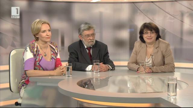 Надпреварата за Европарламента - разговор с Гергана Паси, Юлиана Николова и Димитър Гронев