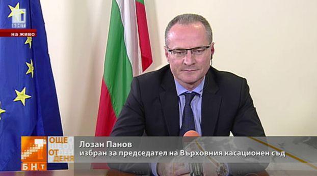 Избраният за председател на ВКС Лозан Панов с първо интервю за БНТ
